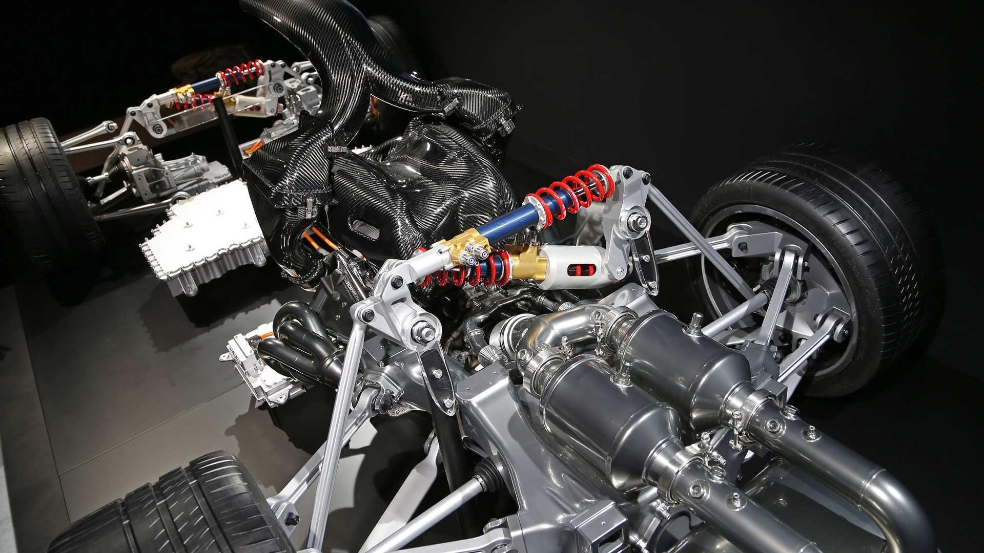 Este es el esqueleto del Mercedes AMG Project One, ¡al descubierto!