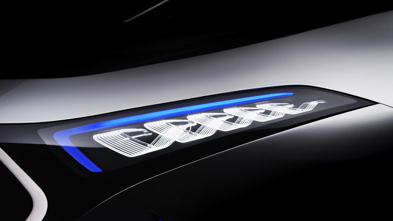 Nuevo boceto oficial del Mercedes EQ A, ¡menudo hatchback!