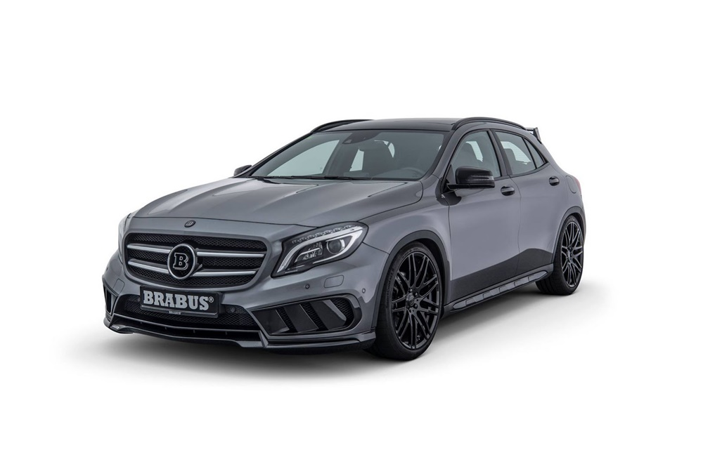 tu mercedes gla 220 cdi recorta distancias est ticas con el gla45 amg gracias a brabus. Black Bedroom Furniture Sets. Home Design Ideas