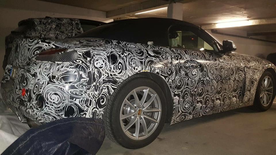 De nuevo, cazado: Así luce el nuevo BMW Z4 más de cerca