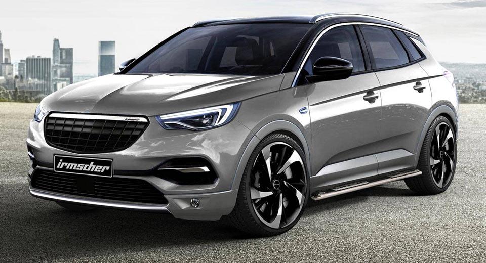 El Opel Grandland X recibe el tratamiento de Irmscher: Cambios sutiles