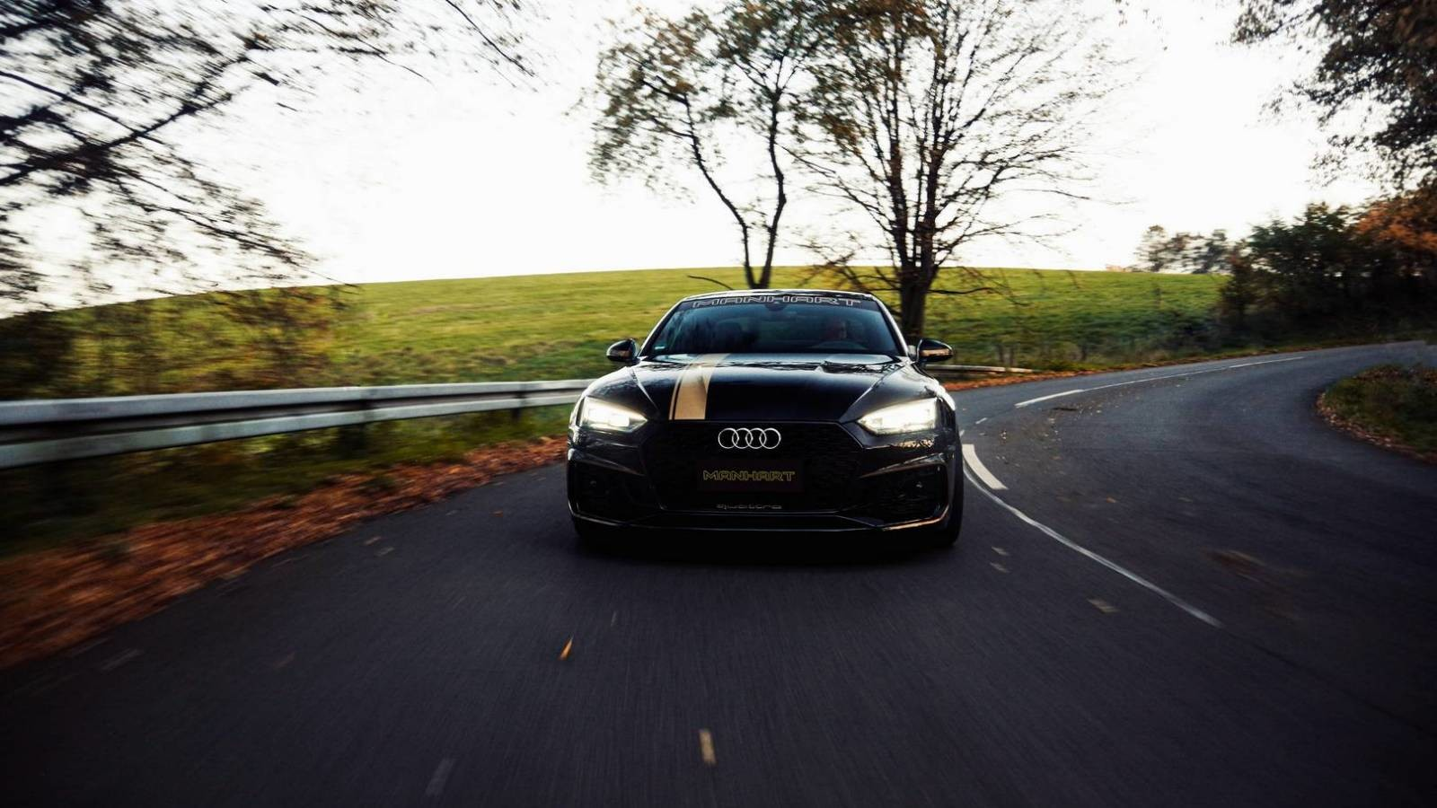 El nuevo Manhart RS 500 lleva al Audi RS5 hasta los 500 CV y lo hace todavía menos discreto