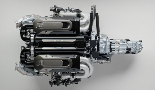 ¿Enamorado del motor W16 del Bugatti Chiron? Ahora puedes hacerte con esta obra maestra a escala 1:4