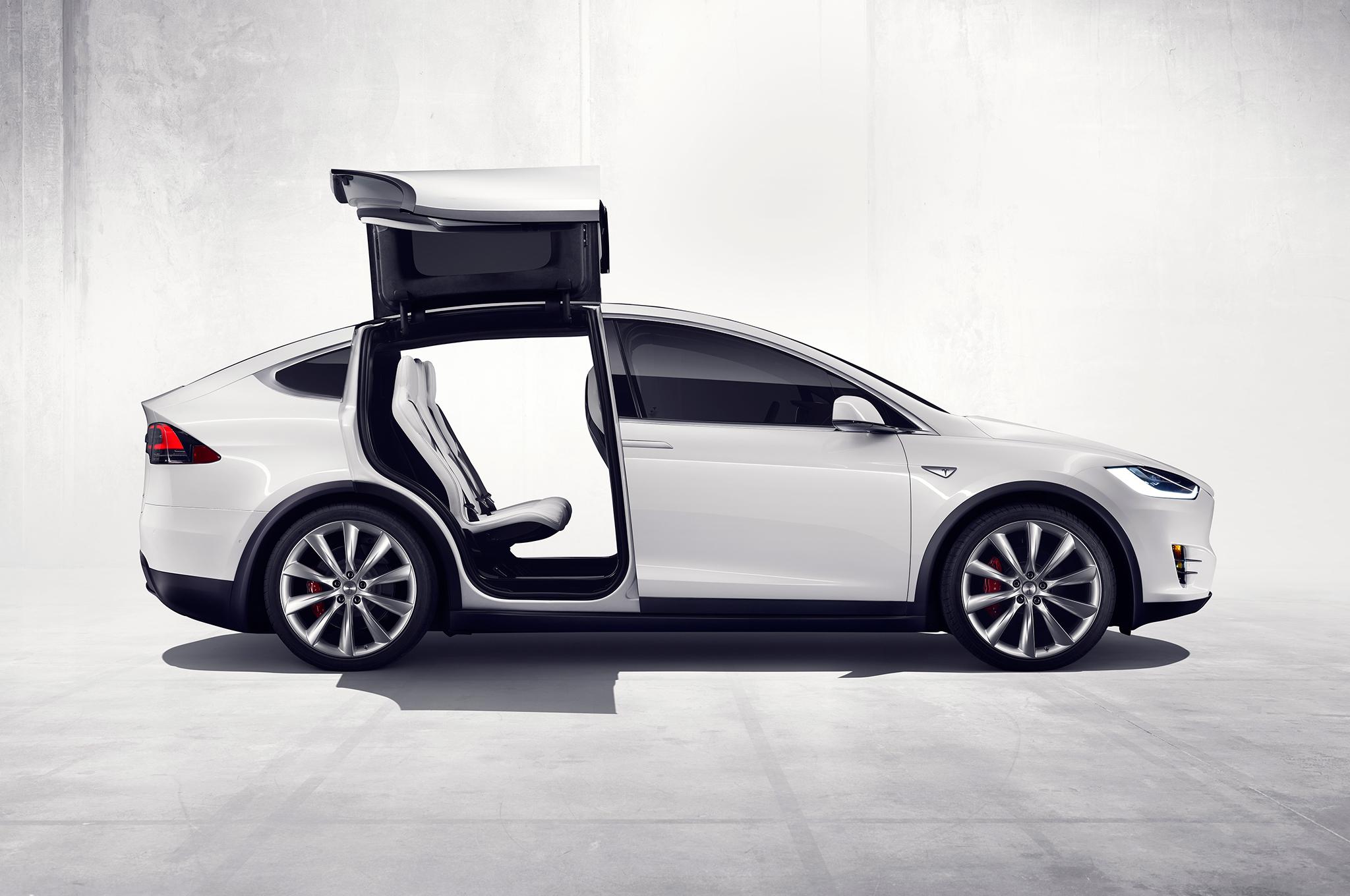 ¡Ojo! El Tesla Model X recibe mala nota en Estados Unidos
