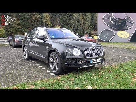 Vídeo: el Bentley Bentayga híbrido rueda en el 'Ring, ¿asequible?