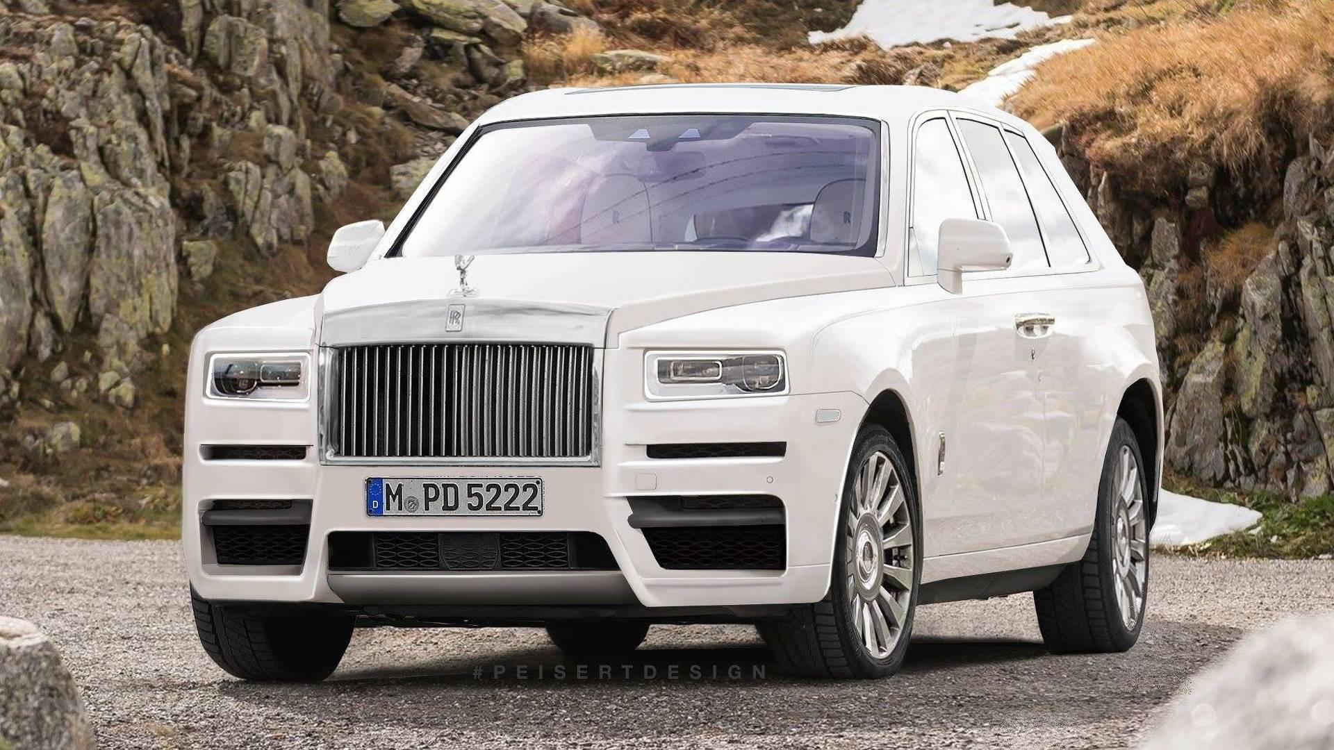 Así será el Rolls Royce Cullinan, el SUV más lujoso