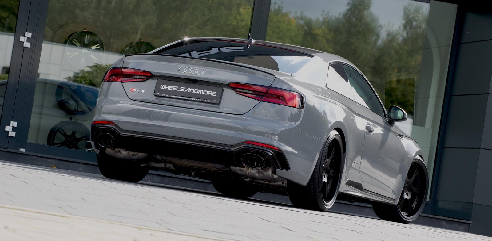 Audi RS5 por Wheelsandmore: Más potencia y unas llantas menos discretas