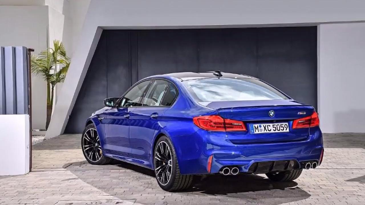 Curiosidad: El primer prototipo del BMW M5 F90 era de propulsión trasera