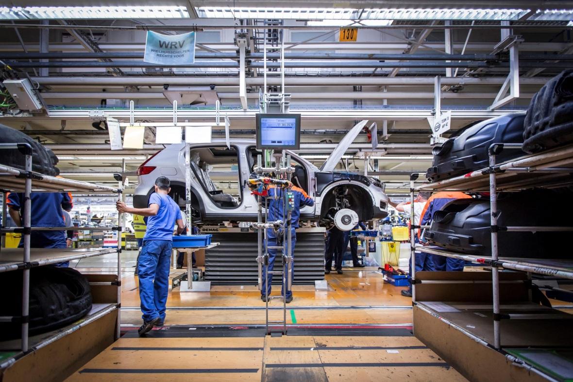 El Volvo XC40 arranca su producción en Bélgica