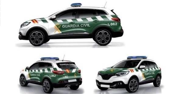 Fotos: Así lucirán los nuevos coches de la Guardia Civil