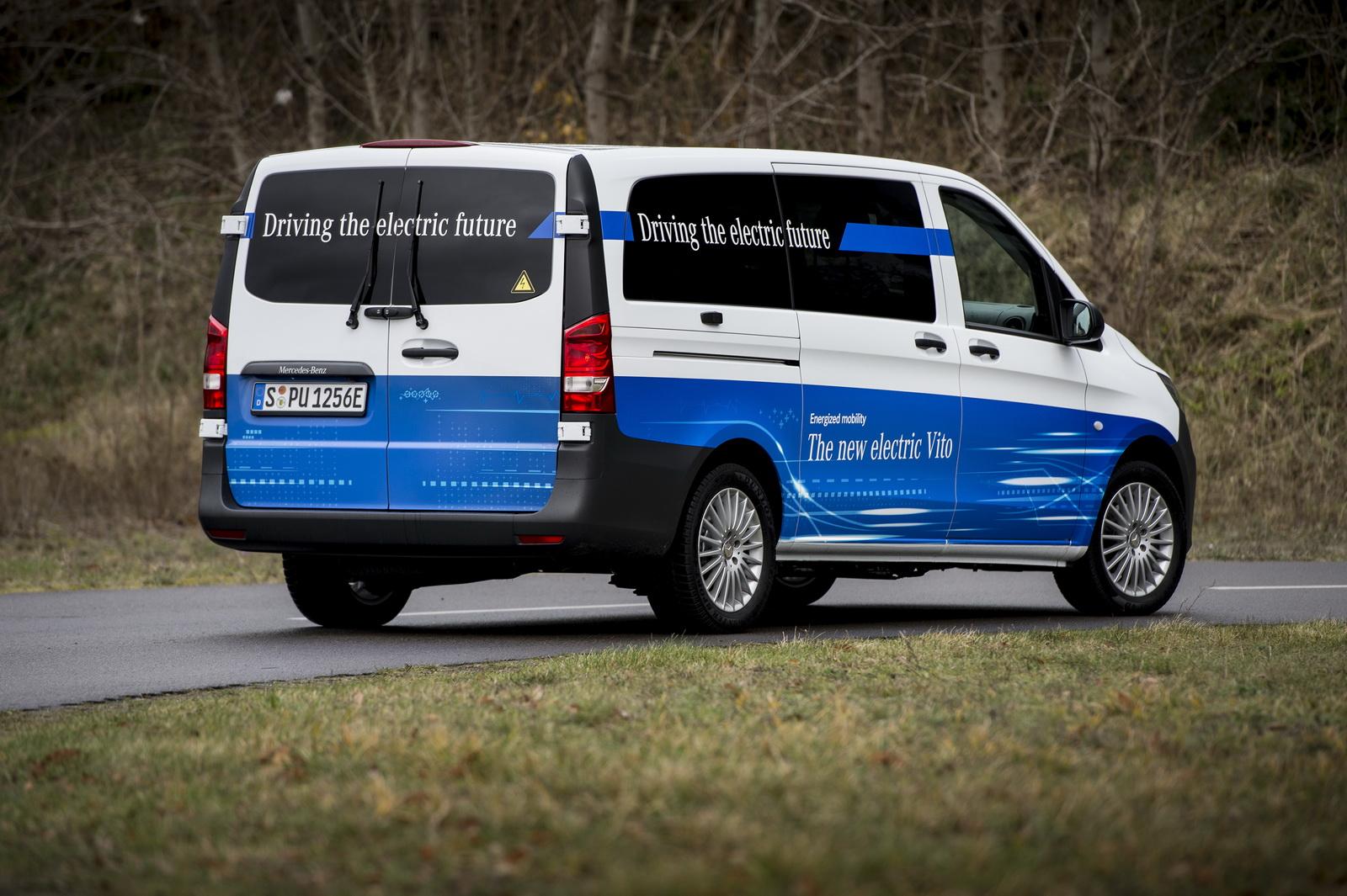 Mercedes eVito: La furgoneta eléctrica de Mercedes que tiene 150 kilómetros de autonomía