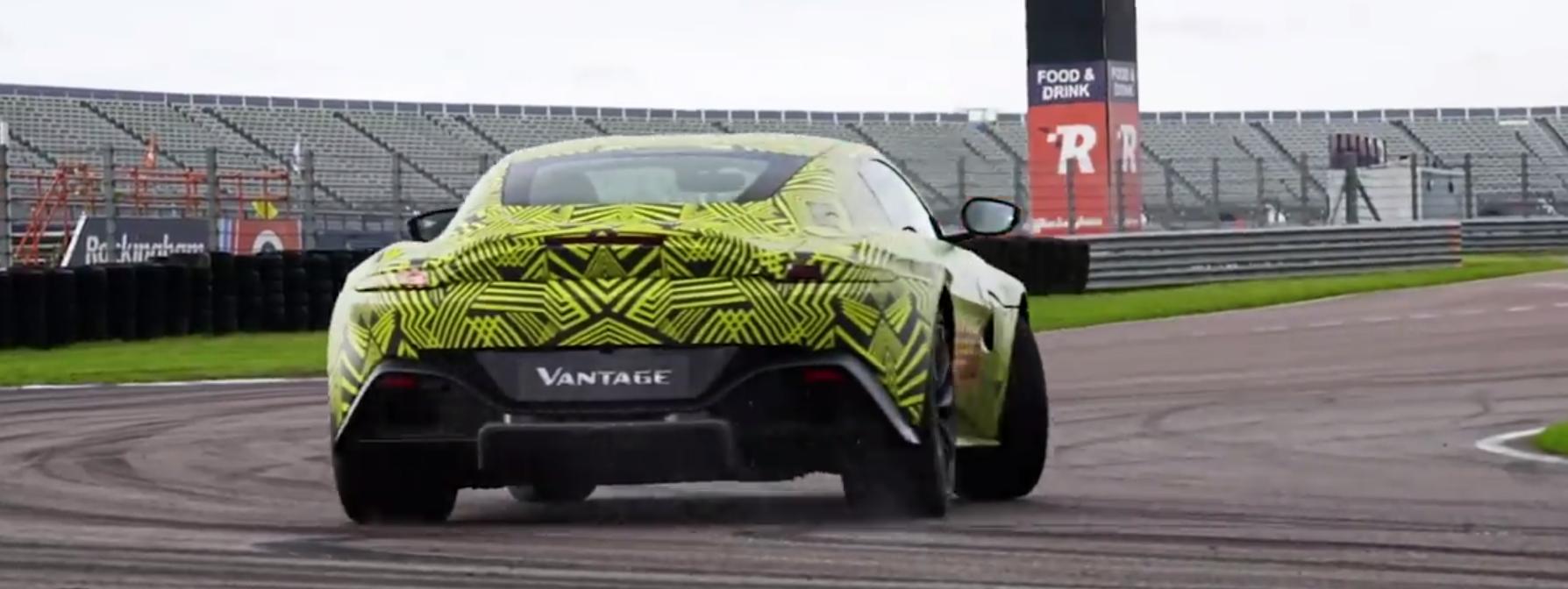 Vídeo: así se desliza el nuevo Aston Martin Vantage