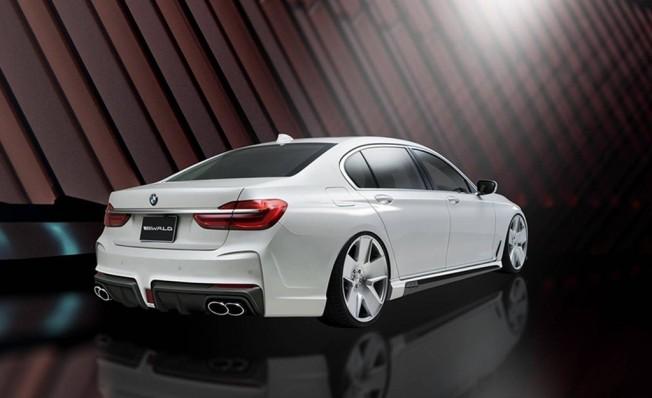 Así es el BMW Serie 7 con el paquete 'Black Bison' de Wald International