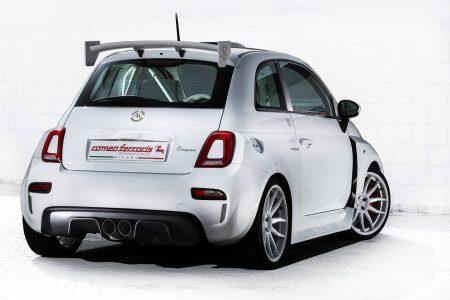 El Cinquone Qatar es un Fiat 500 que combina el lujo y la filosofía racing