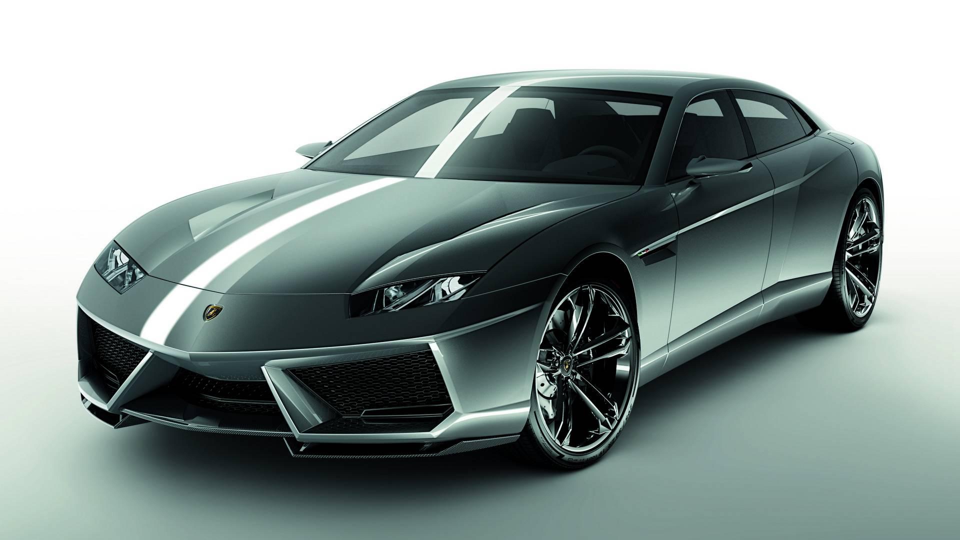 El Lamborghini sedán llegará al mercado, y lo hará como híbrido