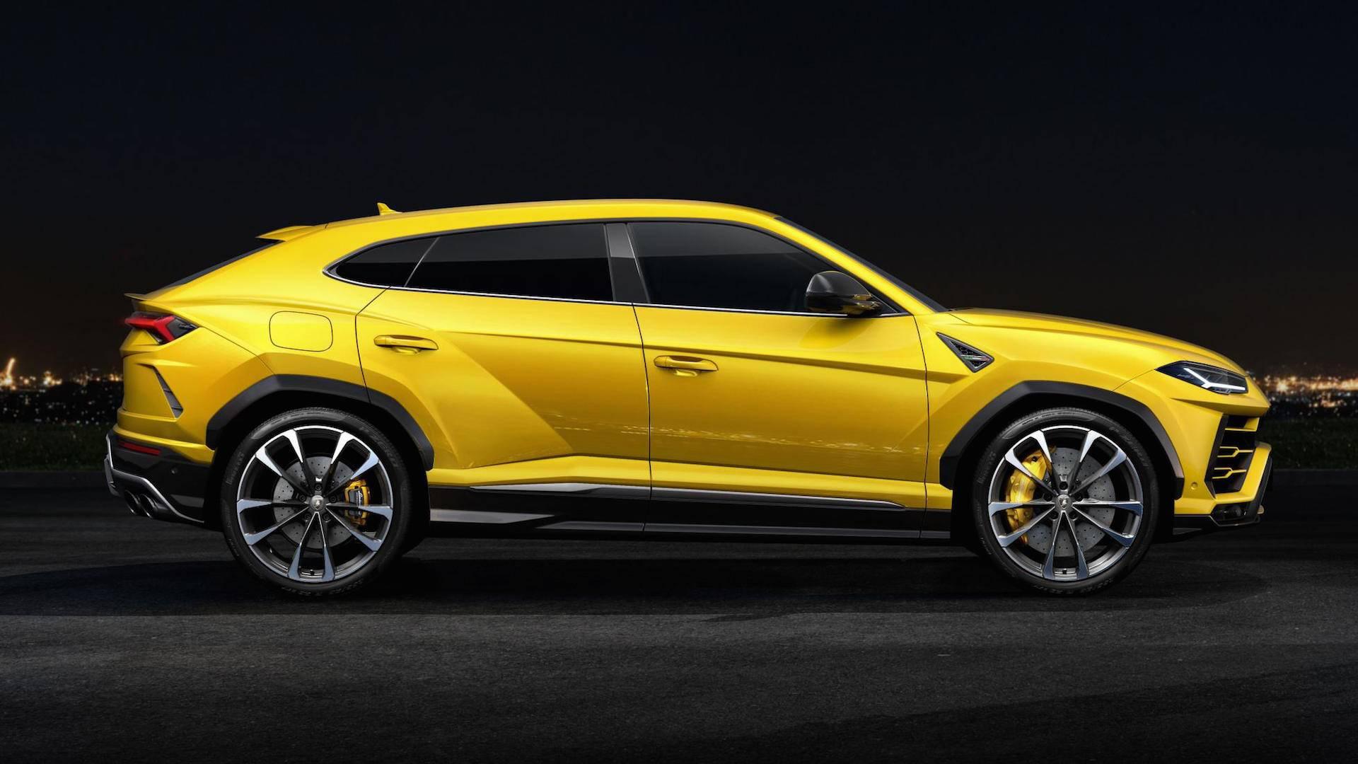 Lamborghini Urus: a la caza del récord en Nürburgring