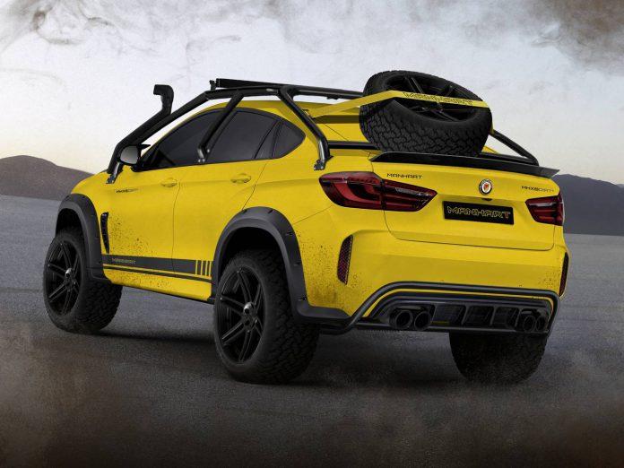 Manhart MHX6 Dirt² Concept: Sólo se fabricarán 5 unidades de este BMW X6 preparado para cruzar el desierto