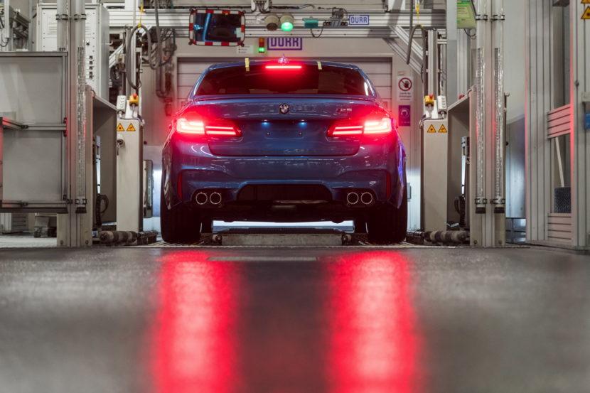 ¿Ya has reservado el tuyo? Arranca la producción del BMW M5 2018 en Alemania