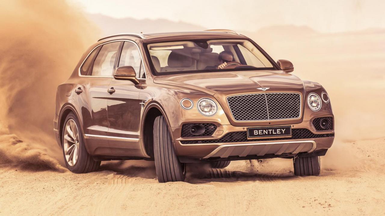 A por el Range Rover Sport: Bentley quiere hacer la subida al Pikes Peak con un Bentayga W12 Biturbo