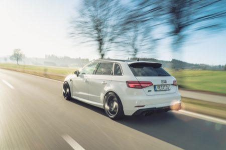 ABT catapulta el Audi RS3 hasta los 500 CV: ¡Supercompacto vitaminado!