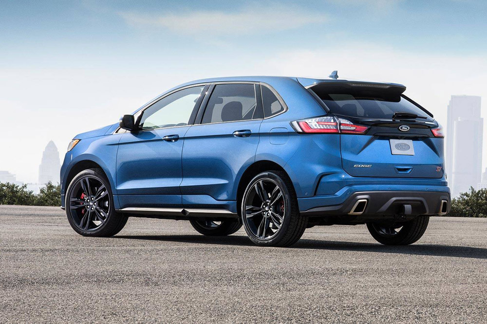 Ford Edge ST 2018: Ford Performance se sube al carro SUV con un V6 de 335 CV