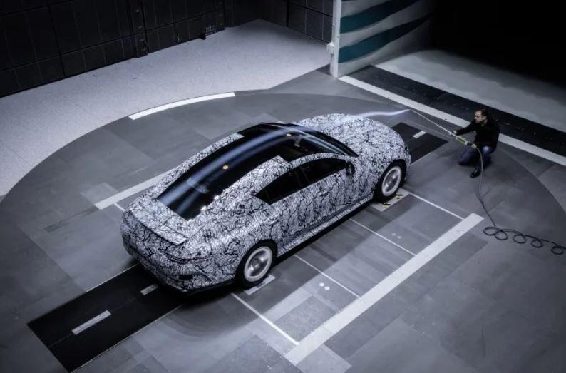 Más de cerca: Mercedes AMG GT Coupé, desde el túnel de viento