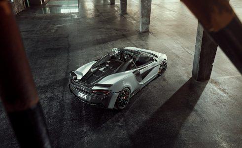 Novitec McLaren 570S Spider: Tras el coupé, turno del descapotable