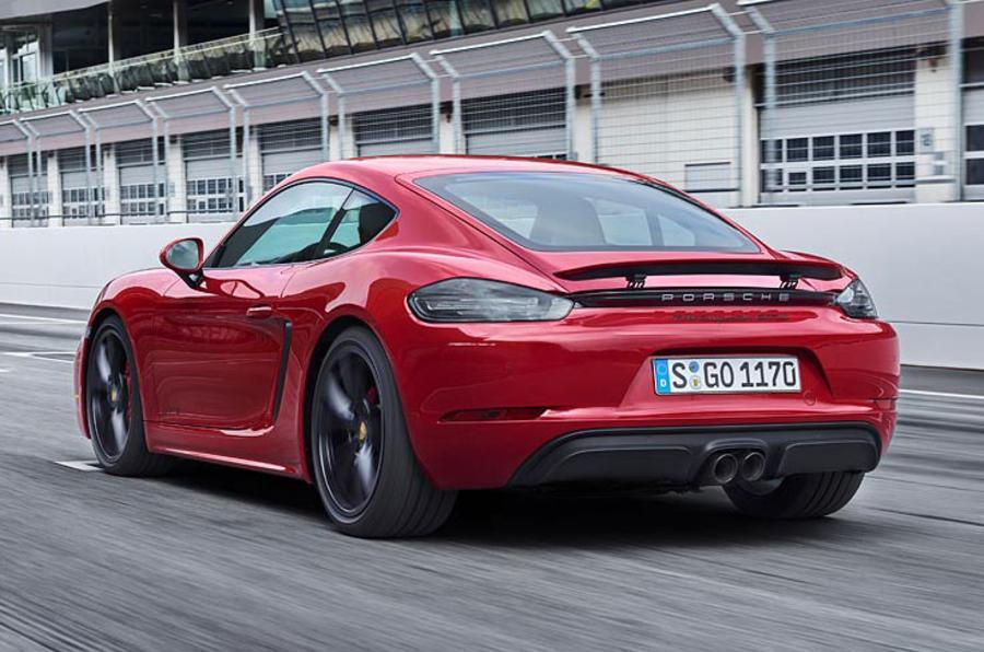 Porsche apunta alto con el próximo 718 Cayman GT4: más potente, más deportivo