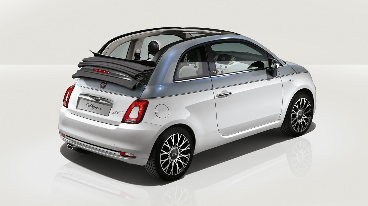 Fiat 500 Collezione: Serie especial con carrocería bicolor con algunos detalles exclusivos