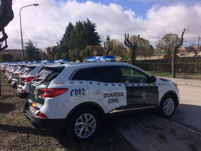 La flota de la Guardia Civil estrena 180 Renault Kadjar