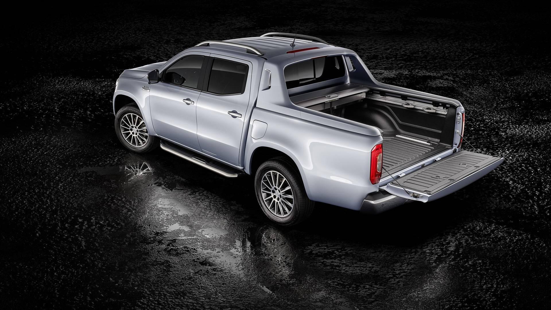 Llega el Mercedes Clase X 350 d 4MATIC con el motor V6 diésel