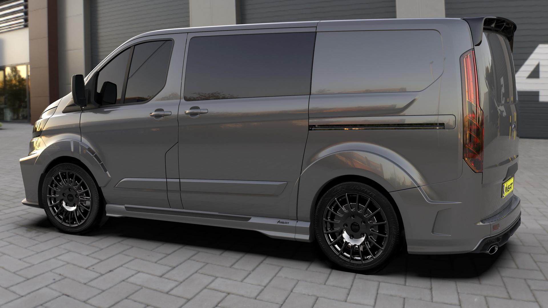 MS-RT Ford Transit es la furgoneta pensada para aquellos que quieren una estética mucho más deportiva