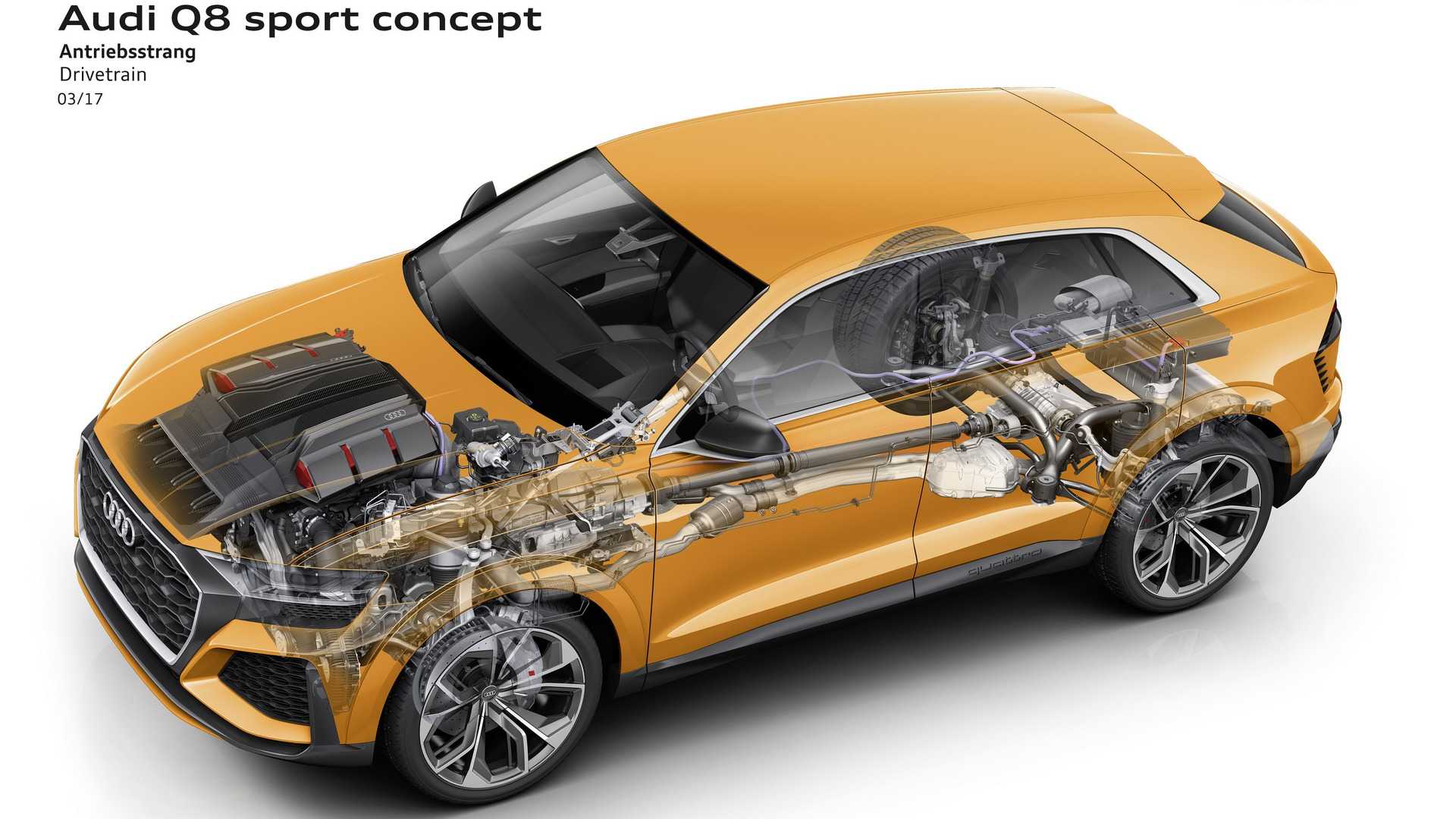 El Audi Q8 RS será un calco del Sport Concept: híbrido y muy potente