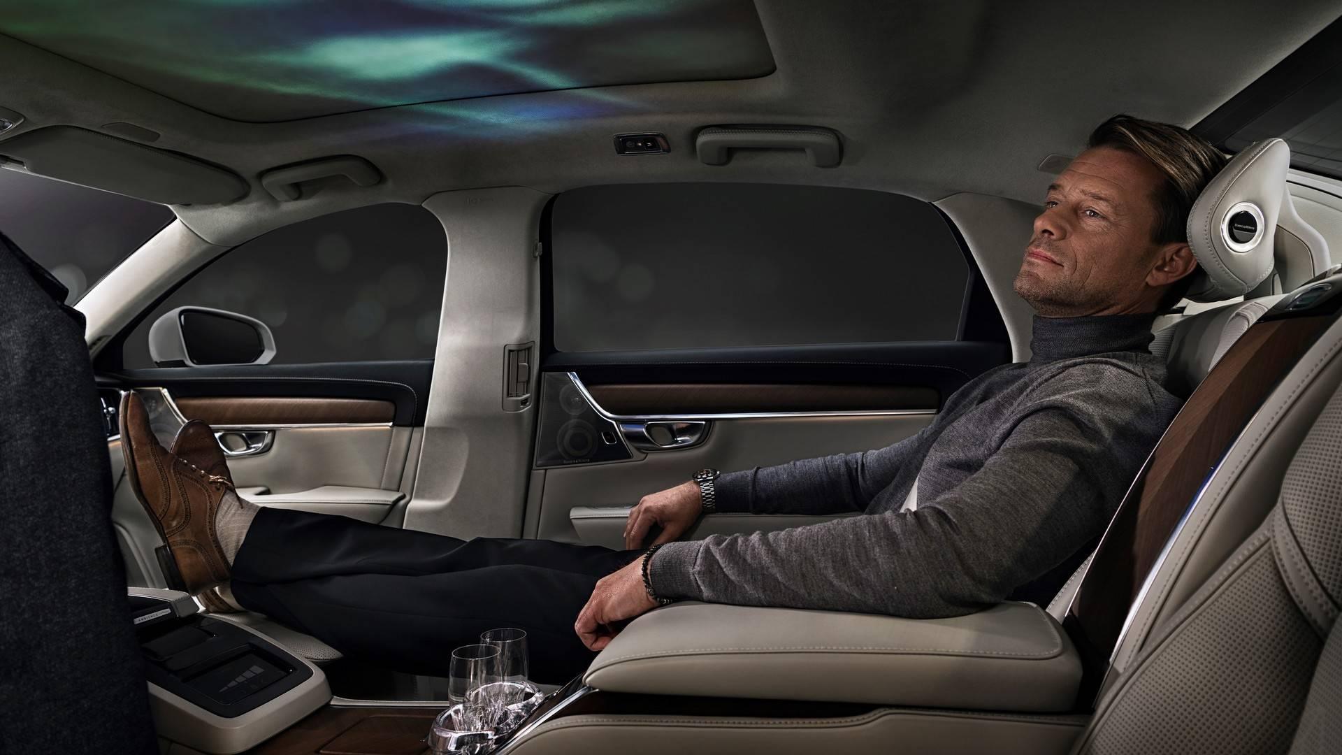 El Volvo S90 Ambience Concept redefine el lujo sobre ruedas