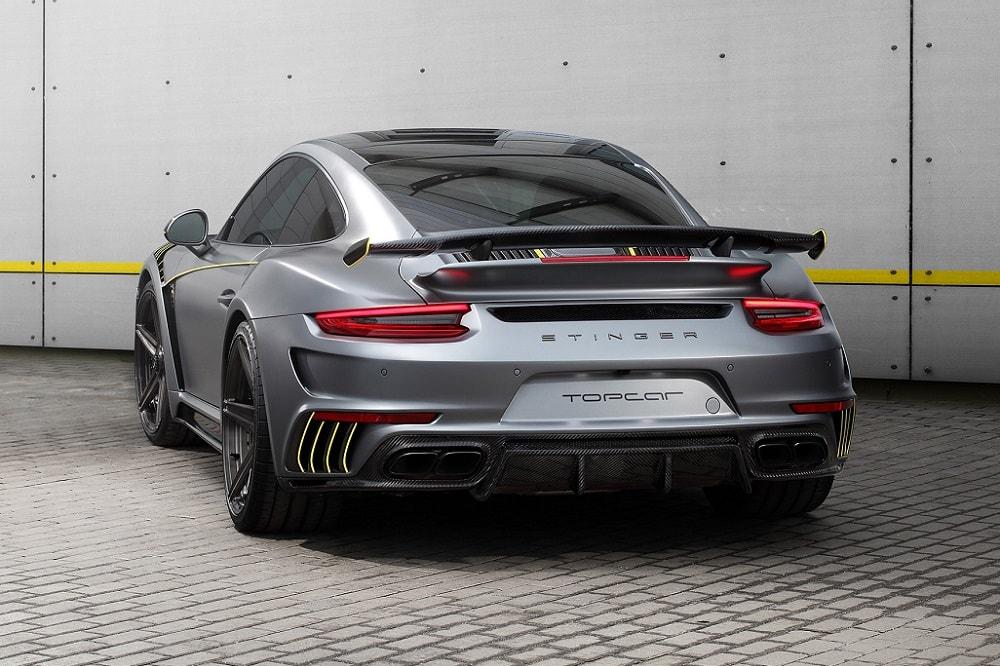 Porsche 911 Turbo Stinger GTR Felix Ferro: La fibra de carbono por bandera