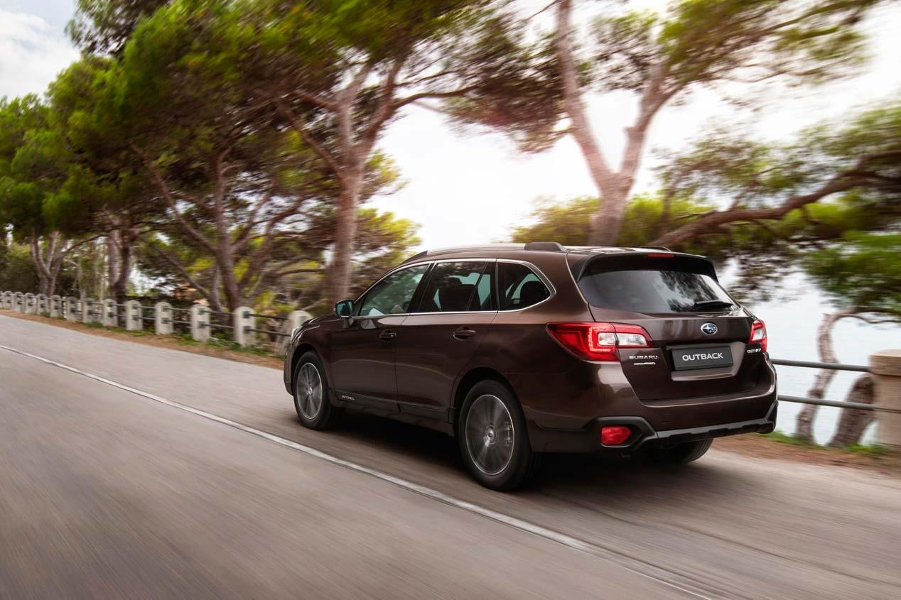 Subaru Outback Executive Plus S: La versión más equipada
