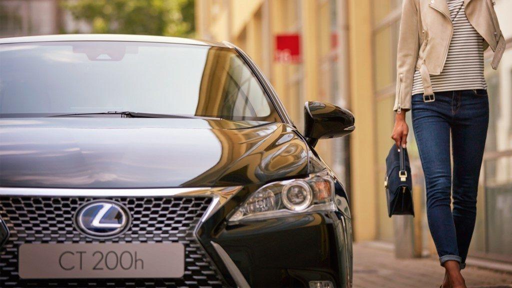 Lexus CT 200h Black & Grey Edition: Combinación bitono