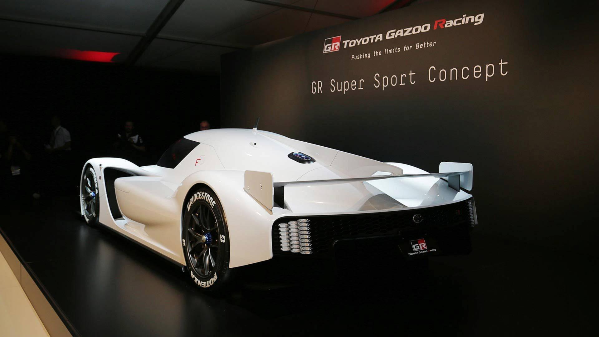 Así se desveló el Toyota GR Super Sport Concept: ya está de camino