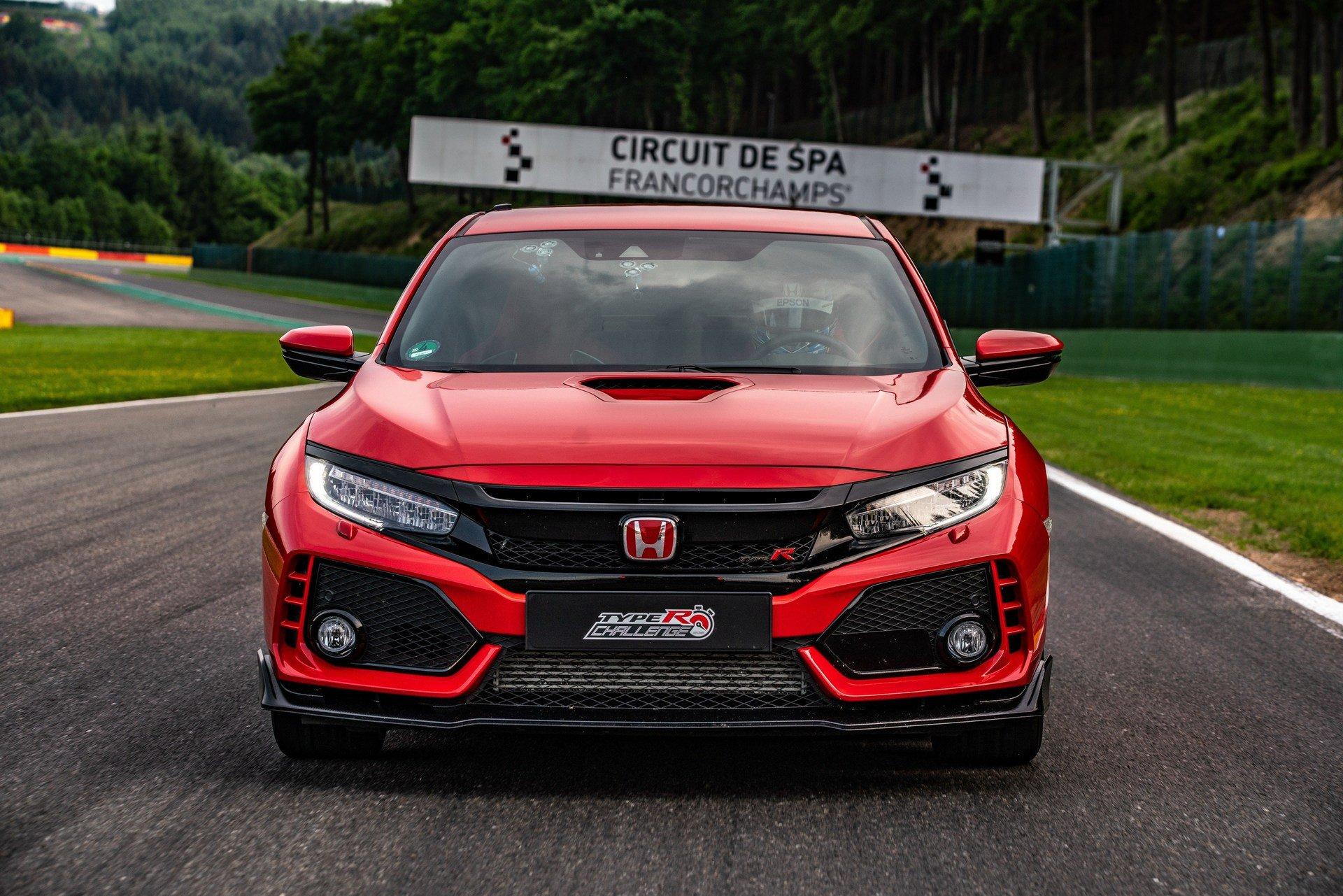 El Honda Civic Type R se adjudica un nuevo récord: esta vez en Spa-Francorchamps