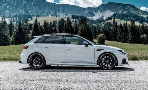 El Audi RS3 Sportback llega también a los 500 CV gracias a ABT