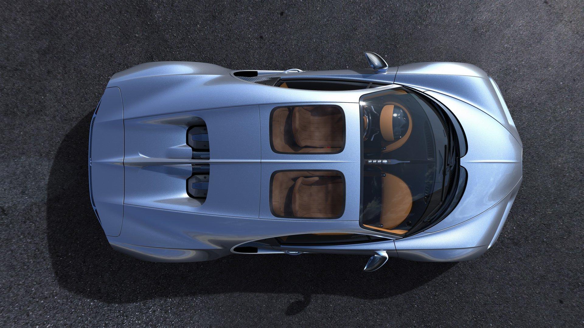 Más detalle del segundo modelo de Bugatti: crossover y coupé