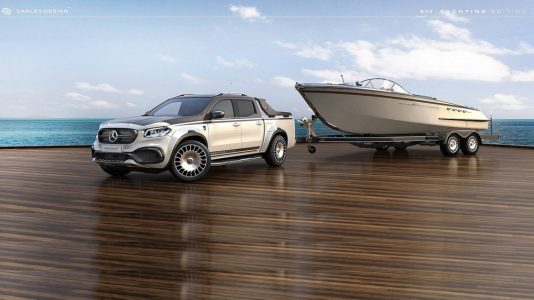 Mercedes-Benz Clase X Yatching Edition: ¿Pagarías 100.000 euros por un lujoso pick-up?