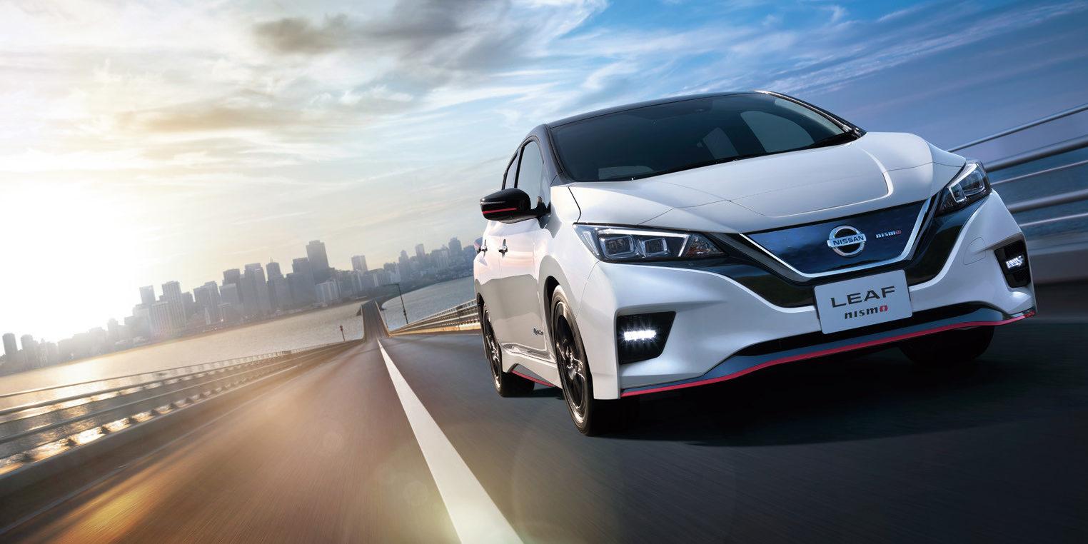 Nissan Leaf NISMO: Una estética más deportiva, disponible sólo en Japón