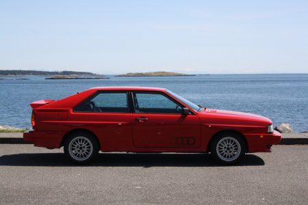 ¿Quieres un Audi Quattro de 1985 en un estado inmejorable? Ahora puedes