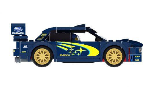 ¿Qué te parece esta propuesta del Subaru WRX STI WRC para LEGO Ideas?