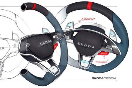 Skoda Vision RS: Así es el prototipo híbrido enchufable de 245 CV