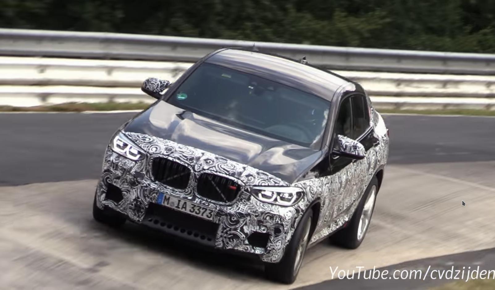 Vídeo: así suena el BMW X4 M en el 'Ring