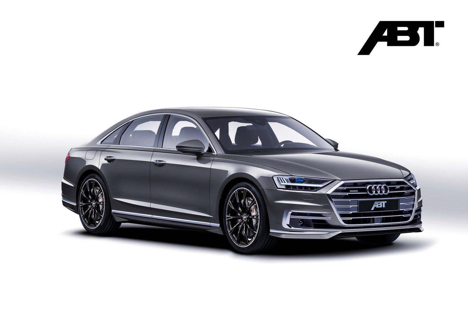 ABT le da un toque deportivo al Audi A8: Más exclusivo y potente