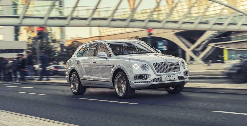 El Bentley Bentayga Speed será la alternativa de doce cilindros al Urus