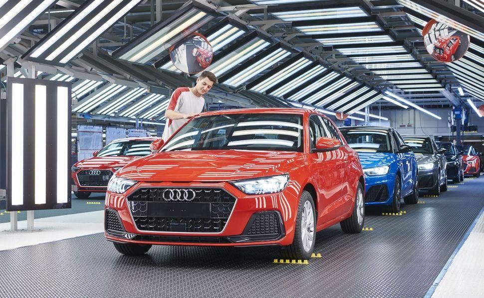 El nuevo Audi A1 arranca su producción en Martorell